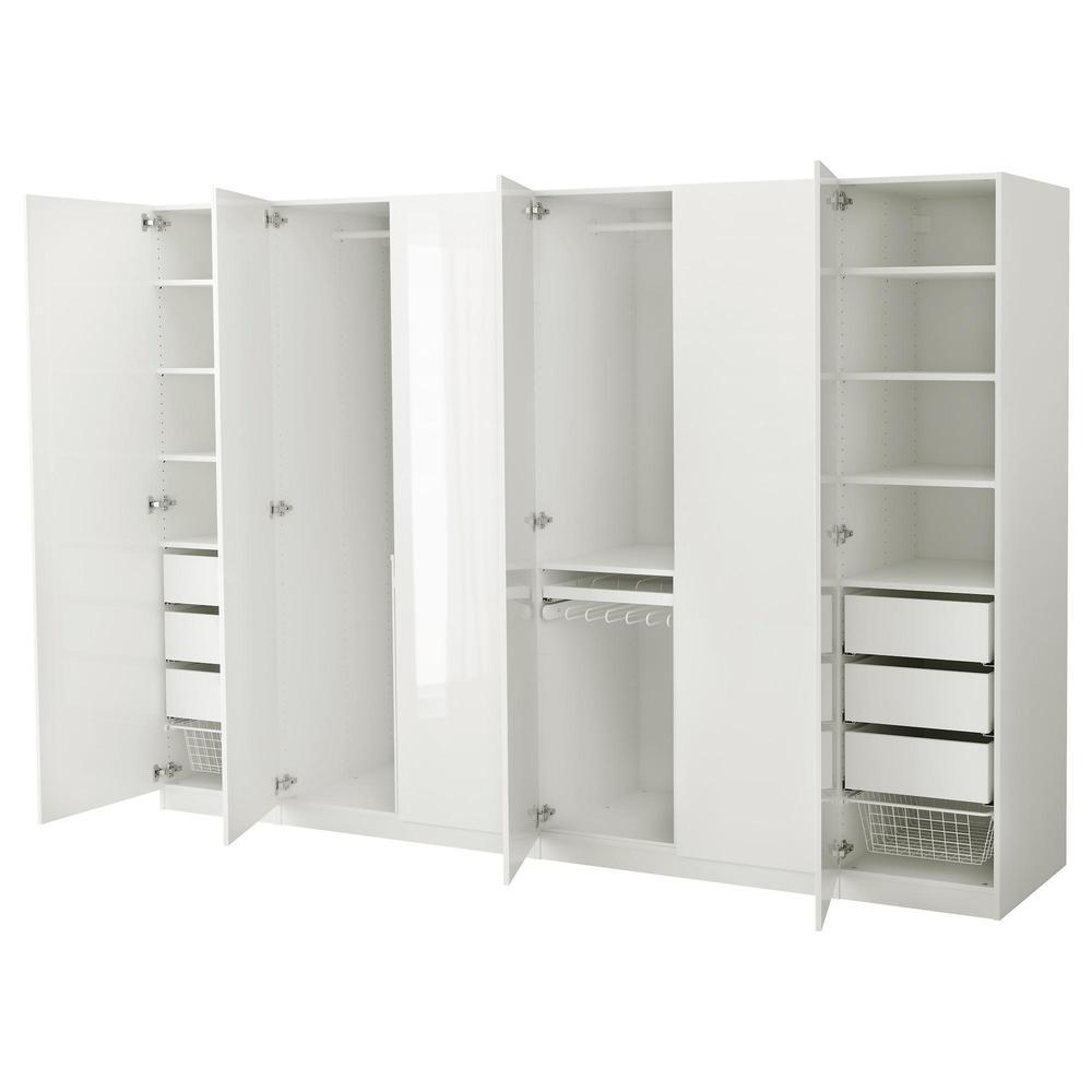 Pax Wardrobe 300x60x201 Cm Standard Loops 491 274 13