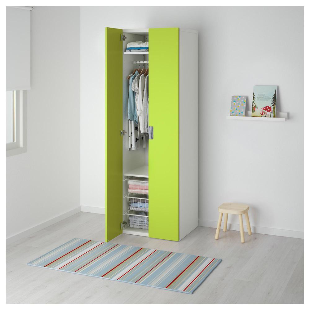 STUVA Kleiderschrank - weiß / grün (491.338.19) - bewertungen, preis ...