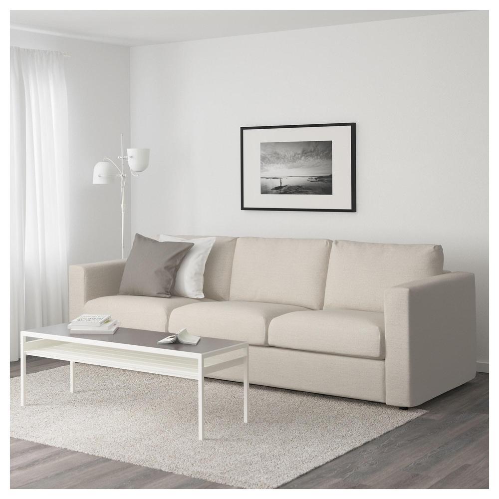 VIMLE 3 paikallinen sohva Gunnared beige