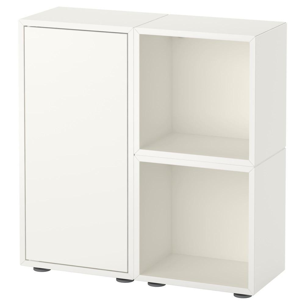 Gambe Per Mobili Ikea eket combinazione di armadi con gambe - bianco