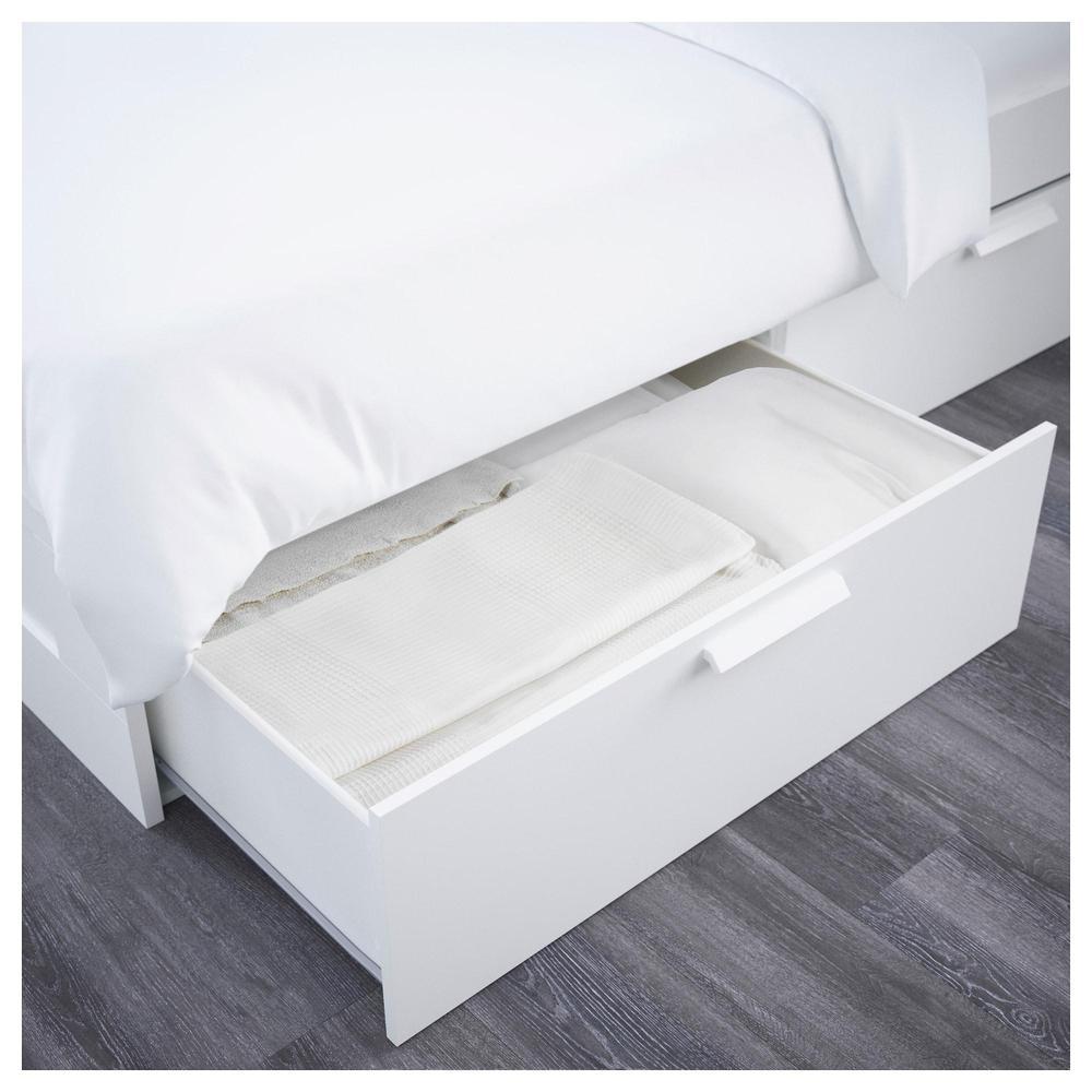 BRIMNES Marco de cama con cabecero - 160x200 cm, Leirsund (692.107 ...