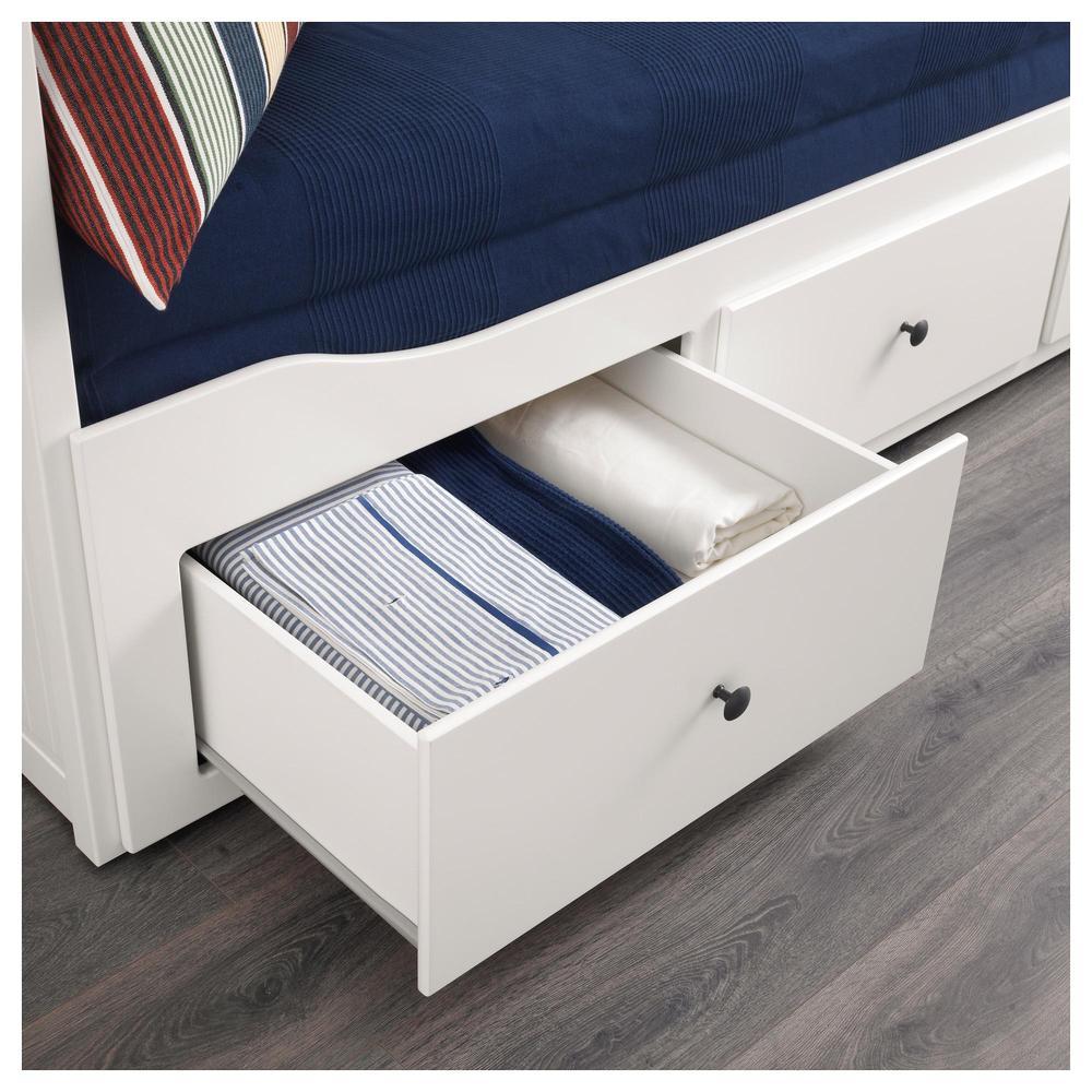 excellent hemnes bank met matrassen yaschikami wit malfors harde with malfors matras. Black Bedroom Furniture Sets. Home Design Ideas