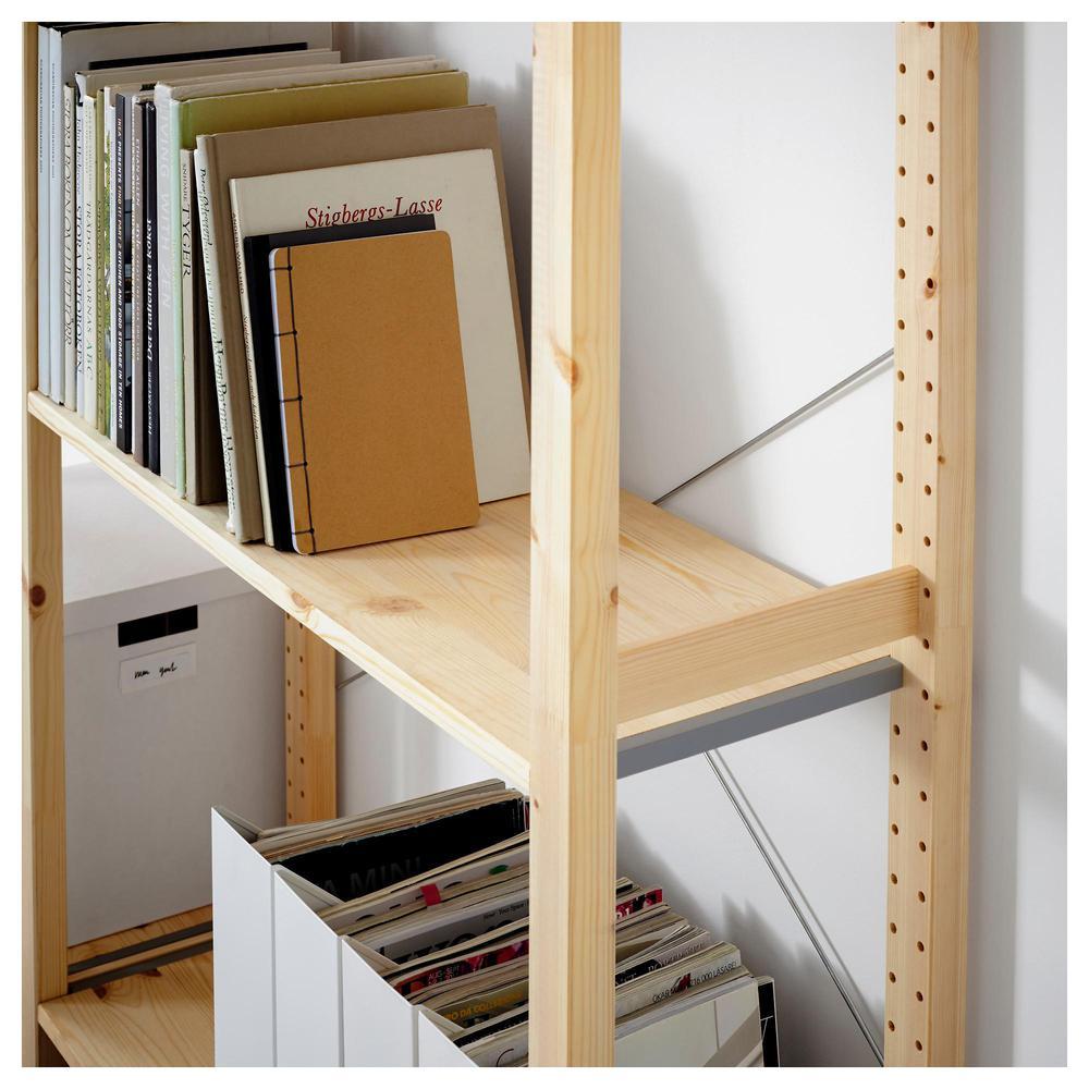 Ikea Scaffali Legno Ivar ivar 2 sezioni / scaffali - 134x30x179 cm