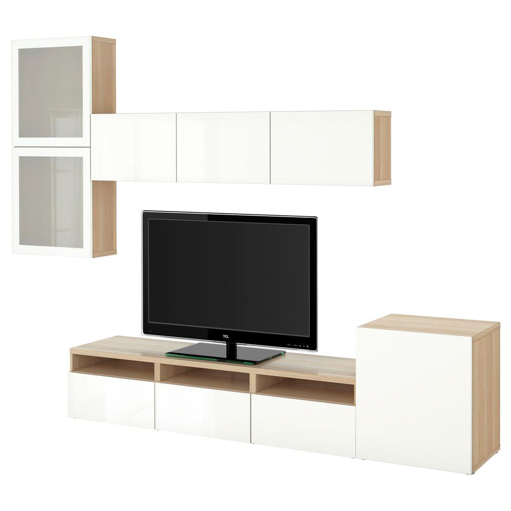 Best Mueble Tv Puerta Combinado Vidrio A Blanco De Vidrio  # Mueble Taquilla Ikea