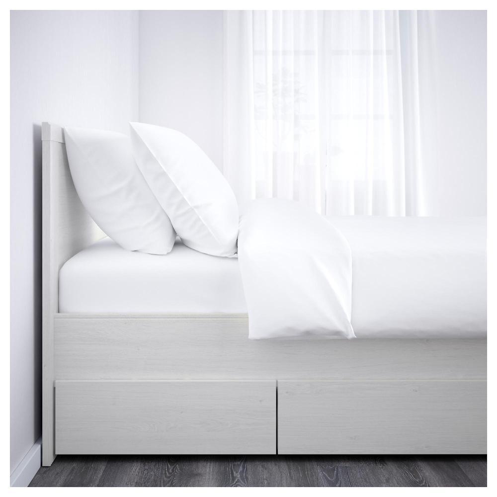 Brusali struttura letto con cassetti 4 160x200 cm lonset recensioni prezzi - Ikea letto brusali ...