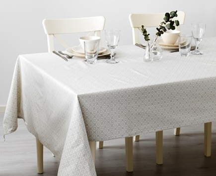 White tablecloth WINTER 2016