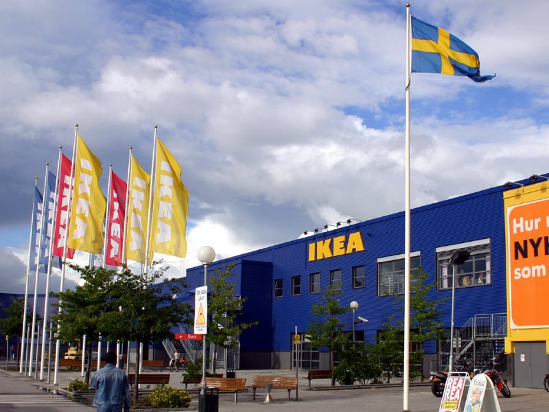 IKEA shopping center in Stockholm