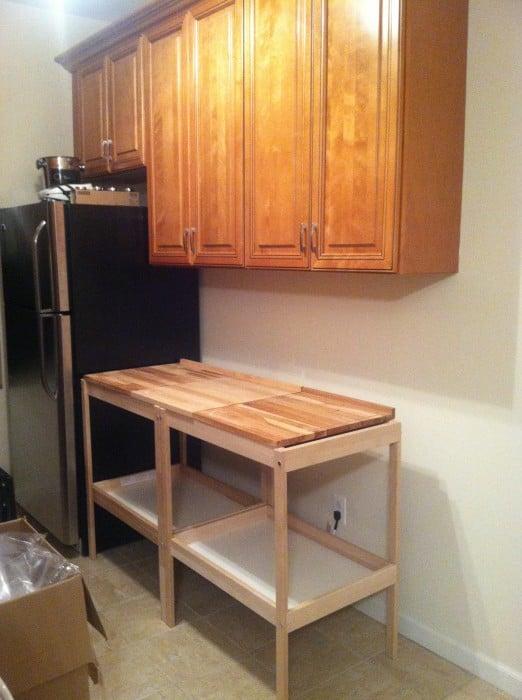Bureau in de keuken
