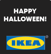 Halloween bij IKEA