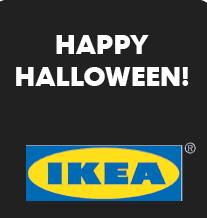 Halloween a IKEA