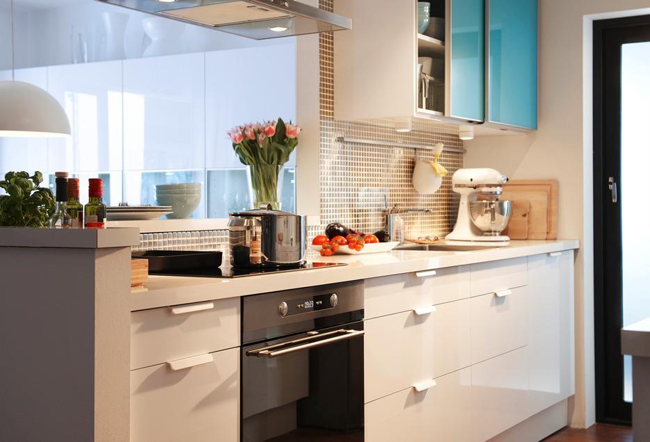 IKEA Küche. Teil 2. Variationen über ein Thema von Fassaden