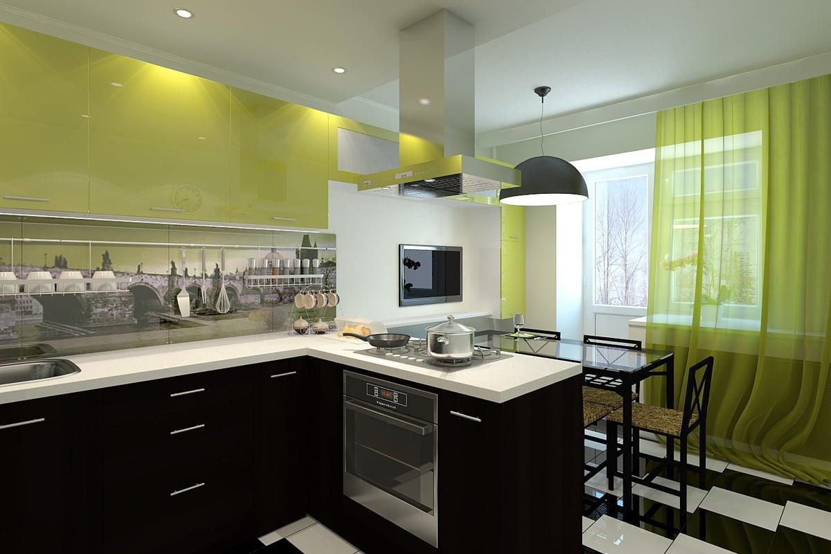 Дизайн кухни ikea