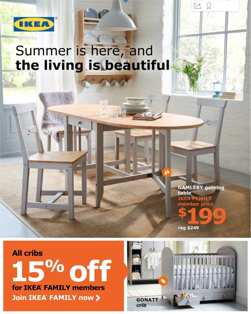 Sommer-Angebote 2016 IKEA in den USA