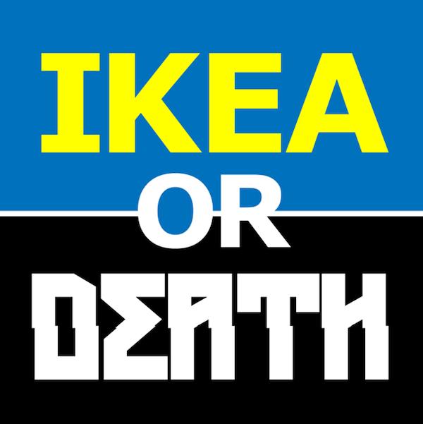 IKEA of de dood