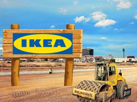 The opening of IKEA in Valencia